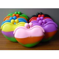 Wholesale Fashion Silicone Purse With Heart Shape from china suppliers