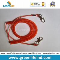 Wholesale Transparent Red Vinyl Coated Steel Coil Tether Leash Safety Rope from china suppliers