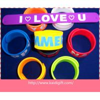 Wholesale hot selling custom fashion reflective slap bracelet from china suppliers
