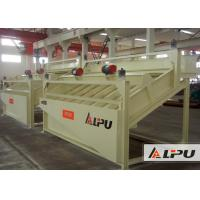 Wear Resistant High Frequency Screen Mineral Ore Dressing Plant 2×0.37kw