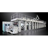 Wholesale Shaftless Drive Gravure Printing Press Machines 300m / min High Speed from china suppliers