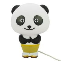Wholesale New Panda Po LED Intelligent Desk Light Smart Voice Control Alarm Clock Desk Lamp from china suppliers