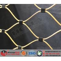 Wholesale Color Coated Wire Rope Mesh, Hand-made stainless steel wire rope mesh from china suppliers