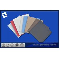 Quality Skived / Moulded PTFE Etched Teflon Sheet With One Side Stick On Pumps , Tanks for sale