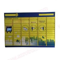 Wholesale High Quality 19 inch  Intelligent parcel delivery locker for convenient delivery service from china suppliers