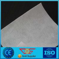 Wholesale Short Polyester / PP Fiber Non Woven Geotextile Fabric For Road Construction from china suppliers