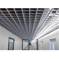 Wholesale CE High Reflective Aluminium Grid Ceiling Panel Customized Colorful Surface from china suppliers
