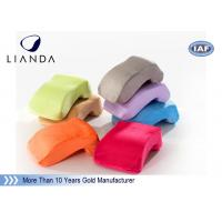 Wholesale Velvet cover Memory Foam Pillows Customized LOGO for Office Nap , ROHS TUV certificate from china suppliers