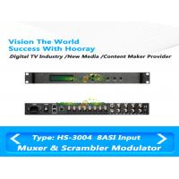 Wholesale All In One TV Scrambler Multiplexer 4RF IP QAM Modulator Support 4 CAS SMS from china suppliers