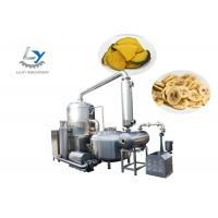 China Stainless Steel 304 Automatic Snacks Frying Machine No Color Fading , Jujube Vacuum Fryer on sale