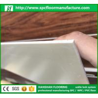 Wholesale Hanshan ECO waterproof 5.5mm click Vinyl plastic indoor WPC flooring with CE from china suppliers