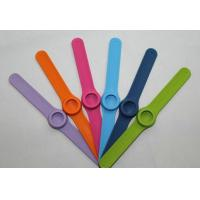 Wholesale Strength Custom Rubber Bracelets / silicone wrist bands,  Personalized Slap bracelet from china suppliers