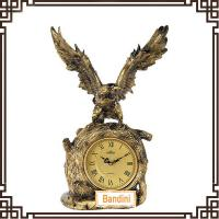 Wholesale Newest Lovely Desktop Clock in Fashion eagle shape simple desk clock 911K from china suppliers