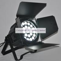 24x15w Rgbaw 5 In 1 Led Par 64 Light With Rotating Barn