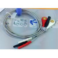 Wholesale Din 3 leads ECG Leadwires medical equipment Accessories , Holter ECG Cable from china suppliers