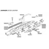 Wholesale DORNIER ENTER AND EXIT GRIPPER TITANIUM SPARE PARTS from china suppliers