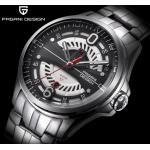 China pagani desian Men High grade men's Quartz Watch Full Steel Japan Movement Men Wrist Watches  PD-1626 for sale