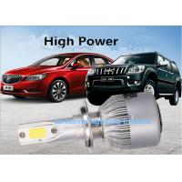 Wholesale 35 W H1 H4 9004 Car Aviation Aluminum LED Headlight Bulbs 5000LM from china suppliers