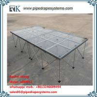 Wholesale folding smart stage glass stage design easy install for sale from china suppliers
