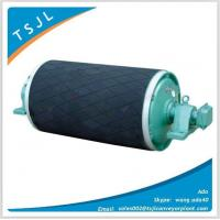 Quality Rubber Lagged Motorized Pulley For Belt Conveyor for sale