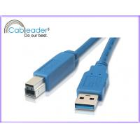 Wholesale 28 / 24AWG gold plated Cableader USB 3.0 Cables A Male to USB B Male from china suppliers