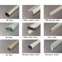Quality Blind tracks (head rail,bottom rail,zebra tube covers) for sale