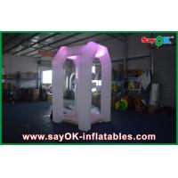 Wholesale White Cube Inflatable Air Tent , Money Catching Booth Machine For Fun from china suppliers