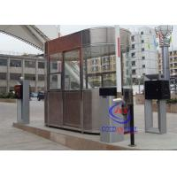 Wholesale Waterproof Outdoor Indoor Stainless Steel Prefab Guard House , Noise Protection Park Toll from china suppliers