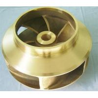 Wholesale ASTM , GB Resin Sand Casting Copper Water Pump Impeller Approved ISO9001 , BV from china suppliers