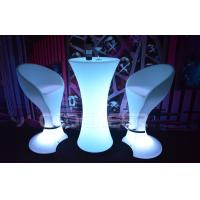 Wholesale Multi color Waterproof led bar stools and tables Illuminated Bar Furniture With Lights from china suppliers