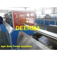 Wholesale WPC Production Line For Door Frame , WPC Wood Plastic Composite Machinery from china suppliers