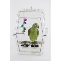 Quality Acrylic Bird Parrot Travel Carrier for sale