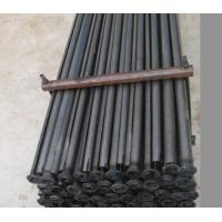 Wholesale 2.5mm Thickness Split Set Rock Bolts , 43mm * 1.5meter Galvanized Steel Rod from china suppliers