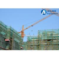 Quality Small Construction 4 ton Fixed Topkit Tower Crane Strong Torsional Strength for sale