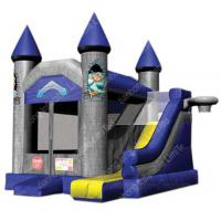 Wholesale PVC tarpaulin Jungle Inflatable Bounce House 0.55mm With Slide from china suppliers