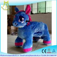 Wholesale Hansel kids rides for shopping centers zoo riders at the mall stuffed animal car ride electric kiddie ride moto car from china suppliers