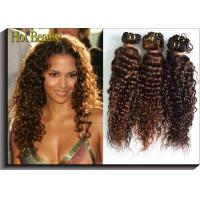 Wholesale Deep Wave Indian Non Remy Human Hair Weaving Nautral Color OEM ODM from china suppliers
