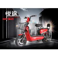 Wholesale 350W / 500W Adult Electric Bike 14 Inches Motor With Hydraulic Front Fork from china suppliers
