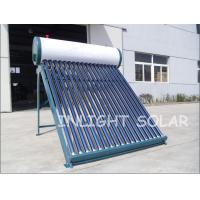 Wholesale Color Steel Non Pressure 240L Evacuated Tube Solar Water Heater System from china suppliers