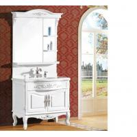 Wholesale Waterproof bathroom furniture single vanity sink cabinet mirror / basin included from china suppliers