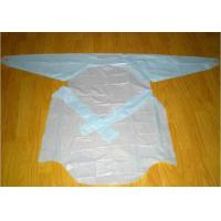 Wholesale Hospital Isolation Gowns CPE Gown With Elastic Cuff / Thumb Loop Multi Color Choices from china suppliers