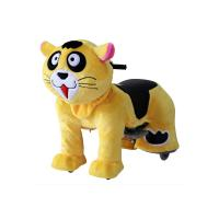 Quality High quality coin operated rides electric ride on animals, plush electrical animal toy car for kids for sale