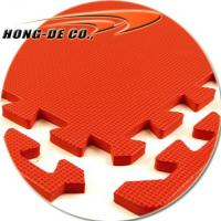 "Wholesale Top Quality Plain Colour Mat with 24""X24"" Softer, Safety,Easy to Fix , Water-proof from china suppliers"