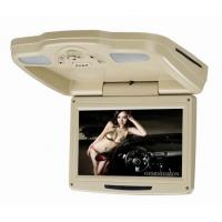 "Wholesale 9.2"" Flip down motorized dvd players with tv 2 dome light, USB / SD/IF / FM Tramsmitter S-FDVD928 from china suppliers"