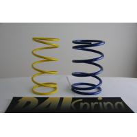 Wholesale Heat resistance SWPA yellow / blue light duty compression springs / compression coil spring from china suppliers