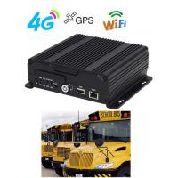Wholesale 1080P 4G 3G GPS WIFI Dual SD Card Mobile Vehicle DVR  H.264 For Bus from china suppliers