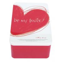 Wholesale Metal Tin Containers As Gifts For Lovers , Tinplate-Material Made Box from china suppliers
