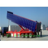 Wholesale Heavy duty Dump Semi Trailer , Mechanical Suspension / air suspension trailer from china suppliers