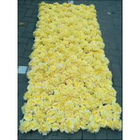 Wholesale UVG wedding decoration wholesale gridding artificial flower wall for stage backdrop decoration CHR1147 from china suppliers