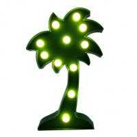 Wholesale Palm tree led marquee light decorative light from china suppliers